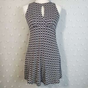 Ann Taylor Loft Geometric Pattern Dress XSP